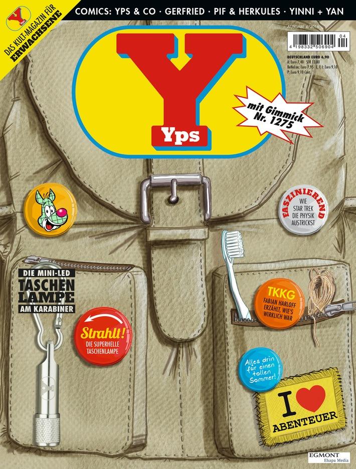 Yps als Backpack mit Fabian Harloff im Interview