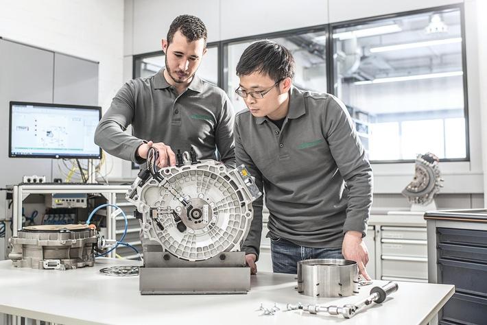 Schaeffler expandiert im Bereich Elektromobilität / Produktportfolio: Technologien für Hybrid- und Elektrofahrzeuge