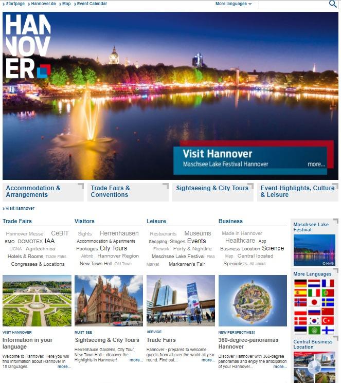 Visit-Hannover.com - Hanover's New International Web Presence!