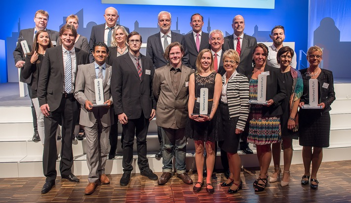 TalentAward Ruhr würdigt fünf Vorbilder für erfolgreiche Nachwuchsförderung
