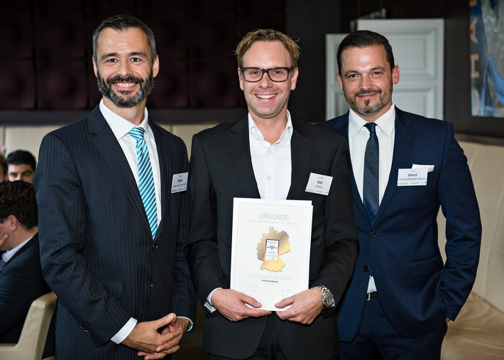 VTB Direktbank gewinnt Kunden-Innovationspreis 2015