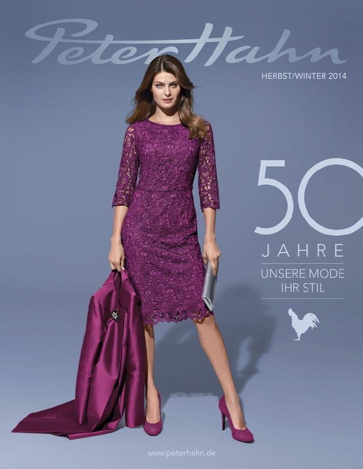 50 Jahre Mode: Peter Hahn feiert in die Herbst/Winter-Saison 2014