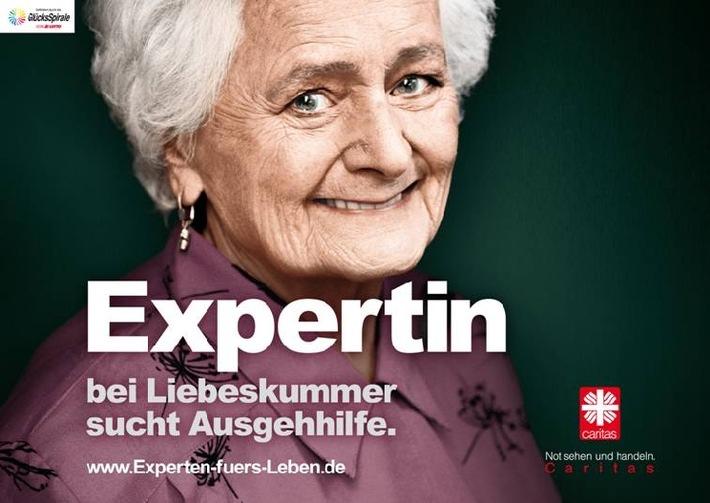 Kampagne 2010 für Menschen im Alter / Experten fürs Leben / Caritas will Blick auf das Leben im Alter weiten (mit Bild)