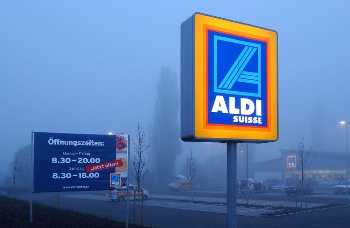 Bienvenue chez ALDI SUISSE