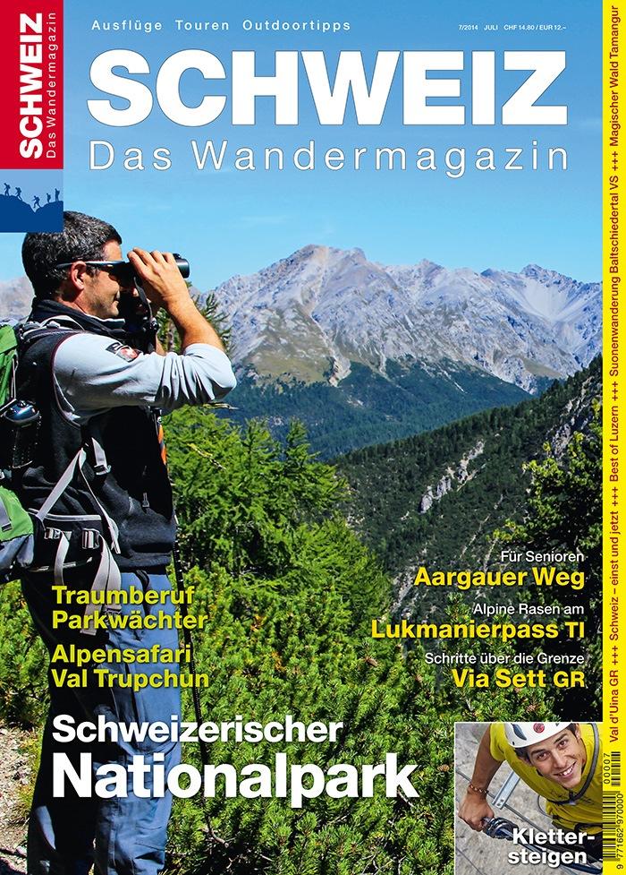 Wandermagazin SCHWEIZ: Schweizerischer Nationalpark - die schönsten Wanderungen