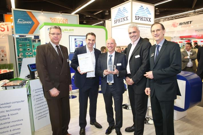 next system aus Österreich gewinnt renommierten Technologie-Award