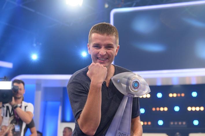 """Aaron Troschke gewinnt """"Promi Big Brother"""" 2014"""
