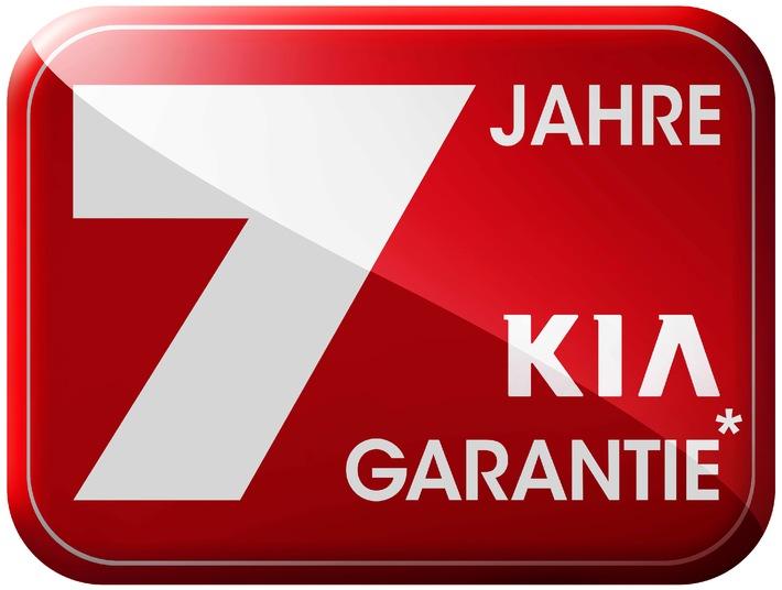sieben jahre garantie f r alle kia modelle pressemitteilung kia motors deutschland gmbh. Black Bedroom Furniture Sets. Home Design Ideas