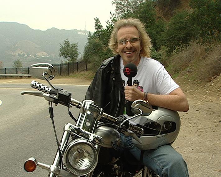 Biker Thomas Gottschalk In Der Midlife Crisis