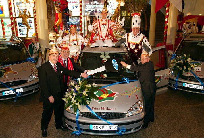 Ford unterstützt den Karneval in Köln