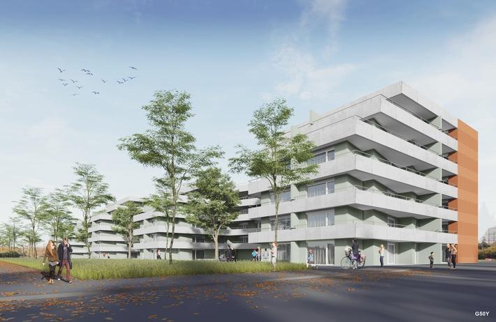 Ein Jahr nach dem Kauf durch die Allianz Suisse: Das Neubauprojekt auf dem Luwa-Areal in Muri nimmt Formen an