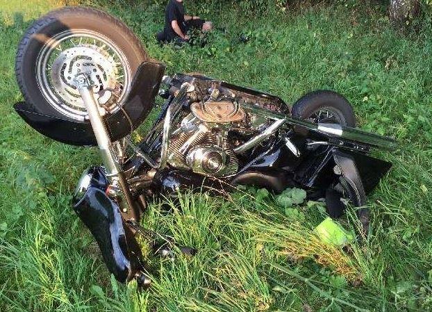 POL-NI: Unfall mit Harley Davidson