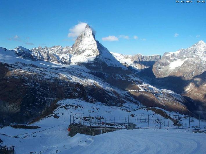 Webcam auf dem Gornergrat erreicht 1 Million Aufrufe über www.Swisswebcams.ch