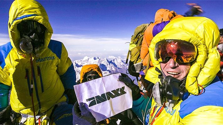 ProSieben MAXX erklimmt den höchsten Punkt der Erde!