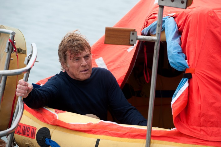 "Survival-Drama ""All Is Lost"" mit Robert Redford im ZDF"