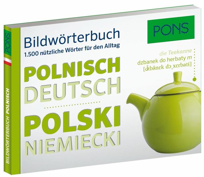 Sag´s mit Bildern - Bildwörterbücher im Taschenformat von PONS