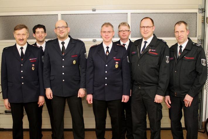 FW Menden: Harmonische Jahresdienstbesprechung des Löschzuges Nord der Feuerwehr Menden