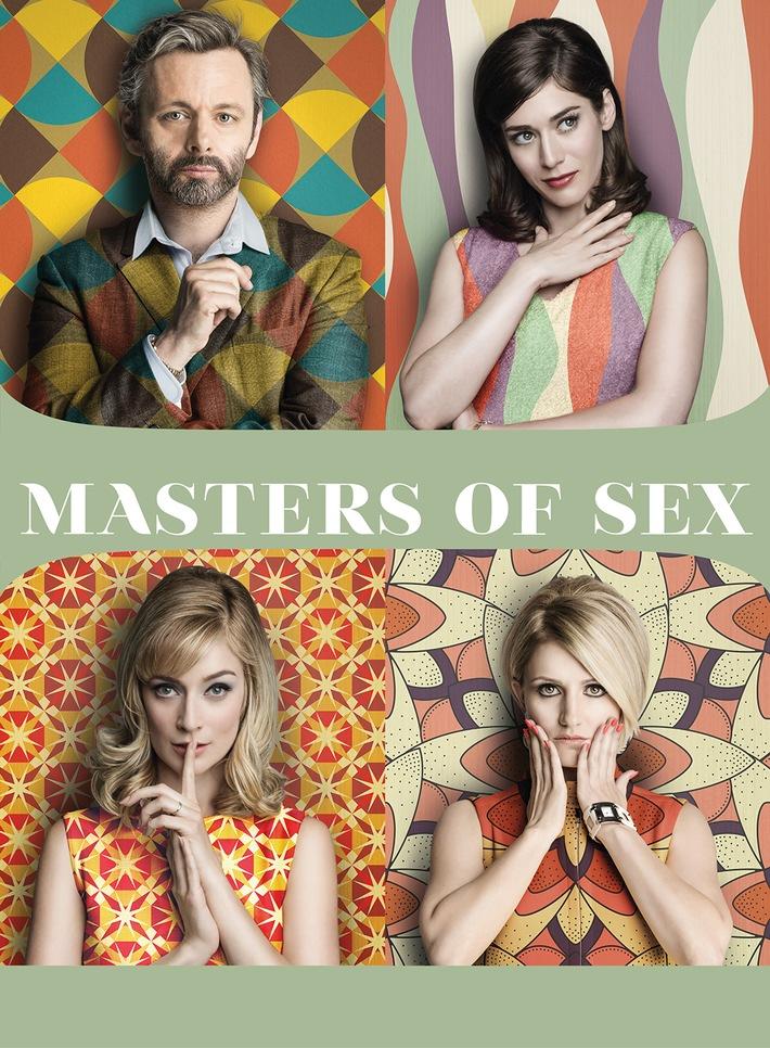 """Das Traumpaar der Sexualforschung steht vor neuen Herausforderungen: die vierte Staffel von """"Masters of Sex"""" ab 28. September auf Sky"""