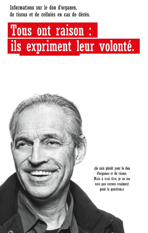 Swisstransplant: Journée nationale du don d'organes le 8 septembre 2012