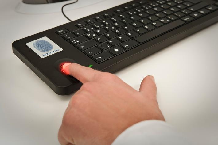 CeBIT-Neuheit: Sicherer Login: Fingerabdruck ersetzt Passwort