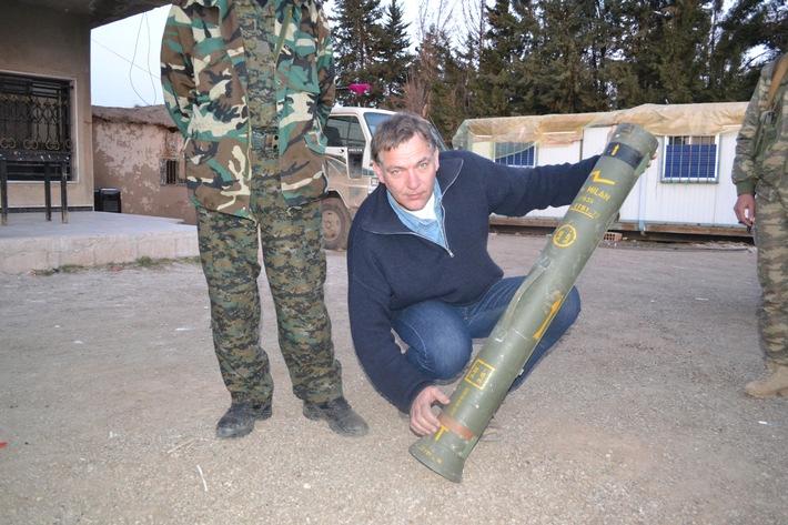 Syrien: Islamisten setzen deutsche Raketen ein