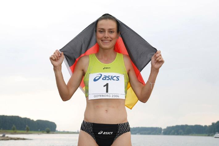 Marathon-Europameisterin Ulrike Maisch startet beim Conergy Marathon Hamburg 2007