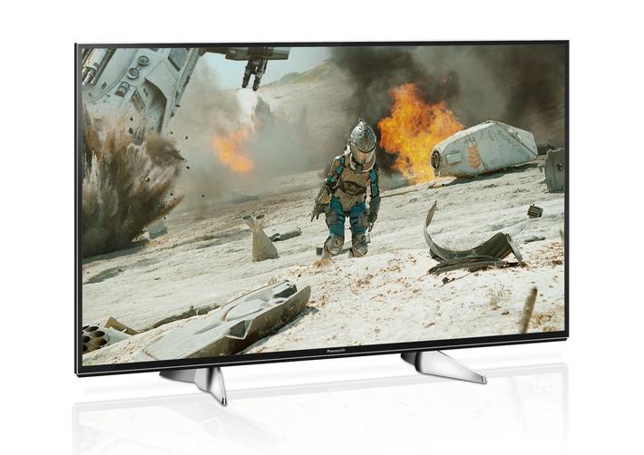 Smarter 4K LED TV mit HDR und Design nach Maß / Panasonic EXW604: Der perfekte Einstieg ins 4K Zeitalter mit Quattro-Tuner, TV>IP, DVB-T2 HD und smarten Komfortfunktionen