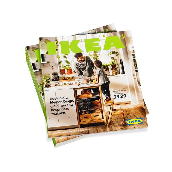 IKEA Katalog 2016 feiert das Leben rund um die Küche / Es sind die kleinen Dinge, die den Alltag besonders machen