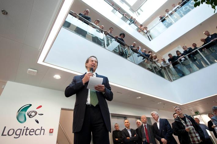 Logitech inaugure le Daniel Borel Innovation Center sur le campus de l'Ecole Polytechnique Fédérale de Lausanne / Une cérémonie d'inauguration qui célèbre l'esprit d'innovation du co-fondateur de Logitech