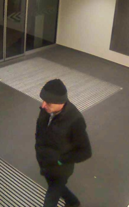 POL-HAM: Tatverdächtiger nach Einbruch in Bank gesucht