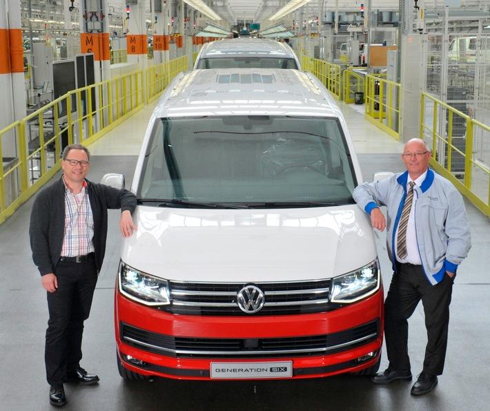 Volkswagen Nutzfahrzeuge 2016 mit Rekordproduktion