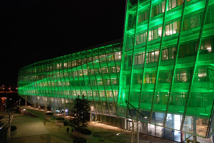 Hamburg economy welcomes European Green Capital year in Unilever Building (mit Bild)