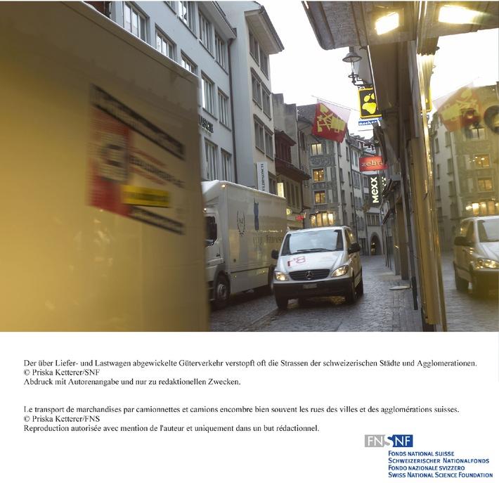 SNF: Bild des Monats Juni 2009: NFP 54 untersucht verdrängtes Verkehrsproblem in den Agglomerationen