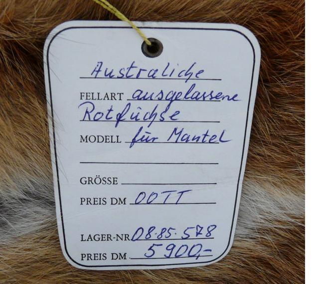 POL-DN: Sichergestellte Pelze suchen ihren Eigentümer