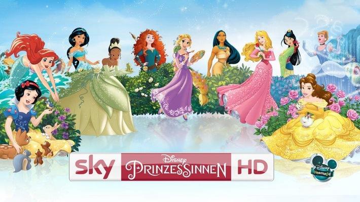 Märchenhaftes Umfeld: Universal Music wirbt auf Sky Disney Prinzessinnen HD