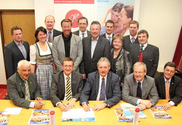 Kooperation sichert positive Weiterentwicklung des Gesundheitstourismus in Oberösterreich