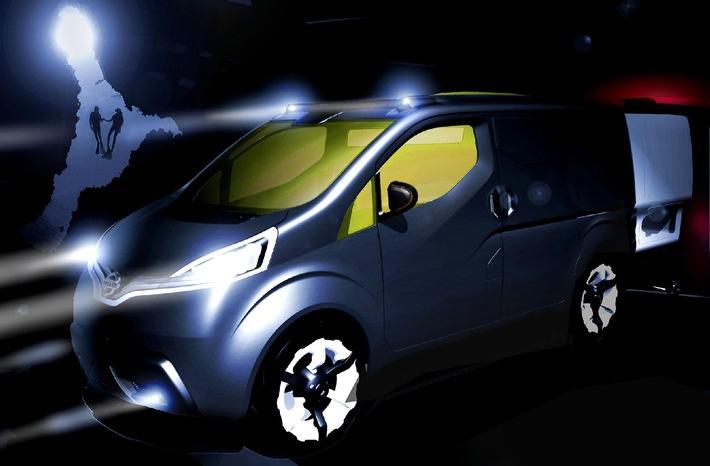 Nissan präsentiert Studie NV200 - Ein Konzept für die Zukunft