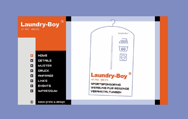 Der Laundry-Boy ist immer dabei