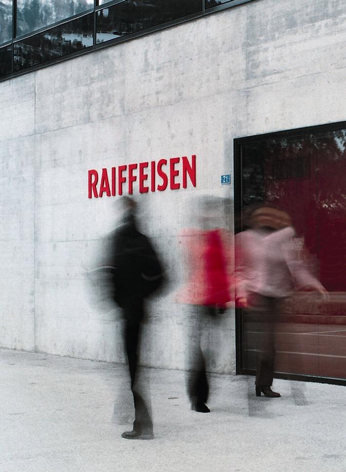 Raiffeisen présente un résultat record et sa nouvelle identité visuelle