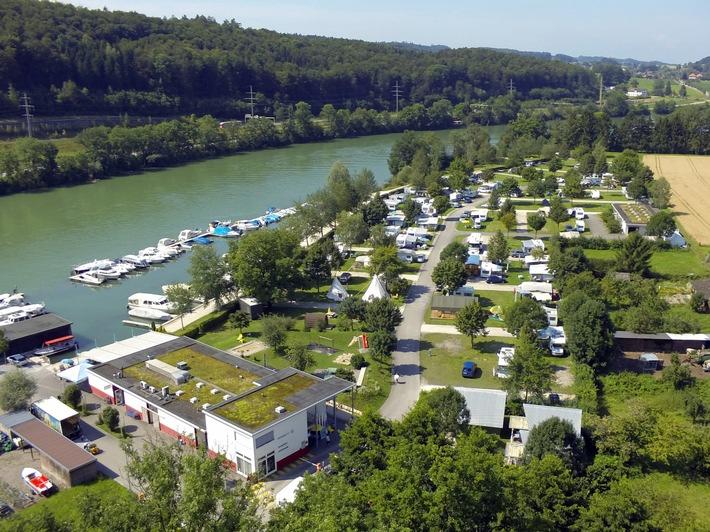 Umsatzsteigerung, Investitionen und neue Angebote bei TCS Camping