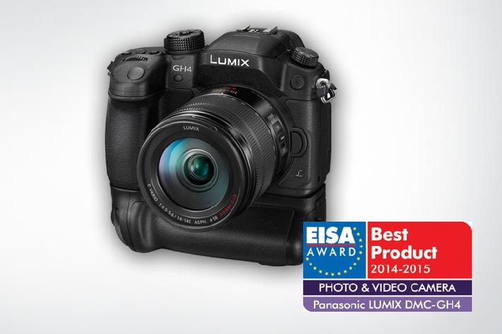 EISA Award: LUMIX GH4 ist Europas beste Foto und Video Kamera des Jahres 2014-2015 / Gleich drei LUMIX Kameras wurden mit einem der begehrten Awards ausgezeichnet