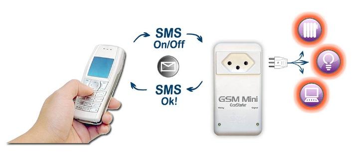 EcoStarter: Dank einer neuen Generation von gebrauchsfertigen SMS-Fernbedienungen sind Energieeinsparungen nun für jedermann erreichbar