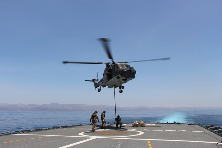 """Bordhubschrauber """"Sea Lynx"""" wieder im Einsatz"""