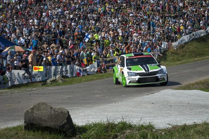 SKODA startet bei der WM-Rallye in Schweden in das Motorsportjahr 2016
