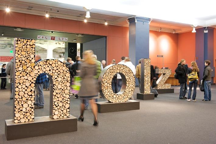 Holz, du 8 au 12 octobre 2013: Là où bois et haute technologie conjuguent leurs talents (IMAGE/ANNEXE)