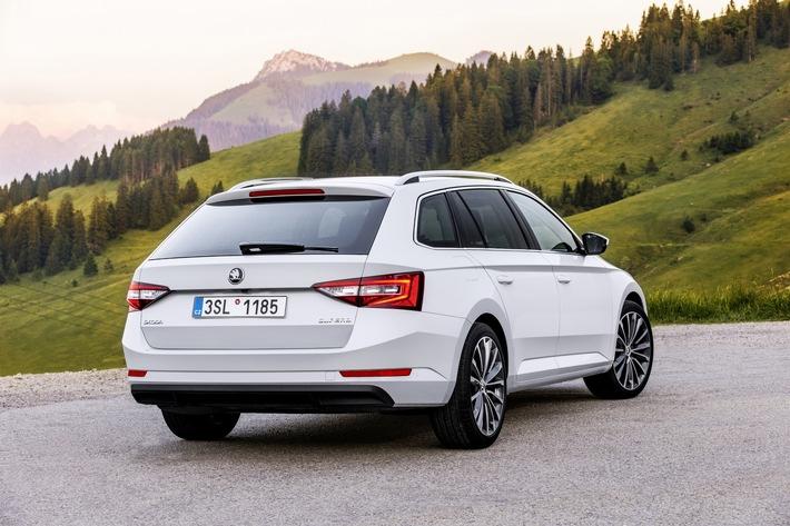 SKODA Superb gehört zu den Finalisten renommierter Autopreise