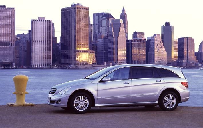 Weltpremiere der neuen Mercedes-Benz R-Klasse in New York