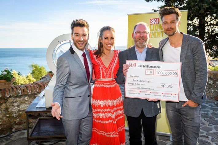 Baden-Württemberger wird in Málaga über Nacht zum Millionär / Kein Aprilscherz: Ralf Deuring (54) gewinnt am 1. April 1 Million Euro beim SKL Millionen-Event