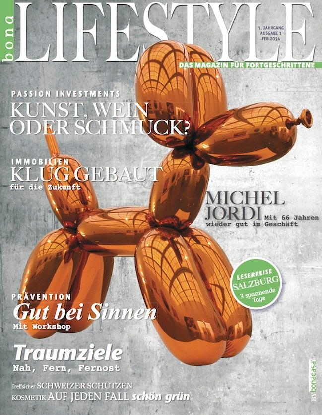 Luxe Oblige Media und bonacasa lancieren bonaLifestyle (BILD)