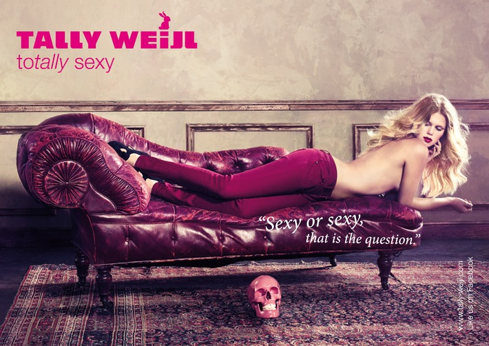 "TALLY WEiJL Fall/Winter-Campaign 2011: ""Sexy or sexy, that is the question."""
